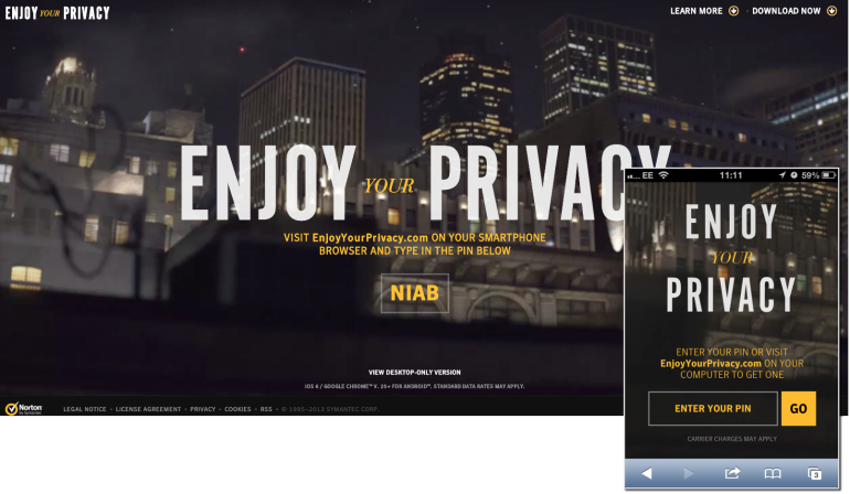 Enjoyyourprivacy Enter PIN