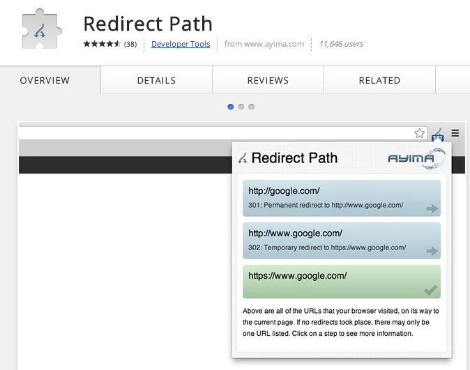 Chrome Redirect Tool Extension