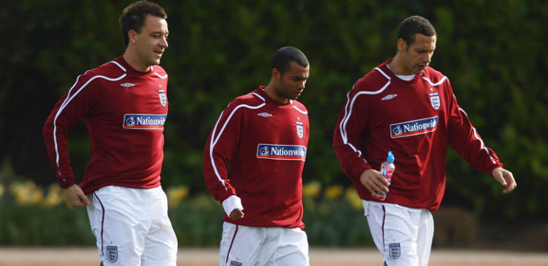 John Terry, Ashley Cole & Rio Ferdinand on England duty
