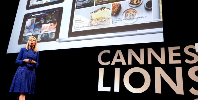 Marissa Mayer takes centre stage at Cannes Lions 2014