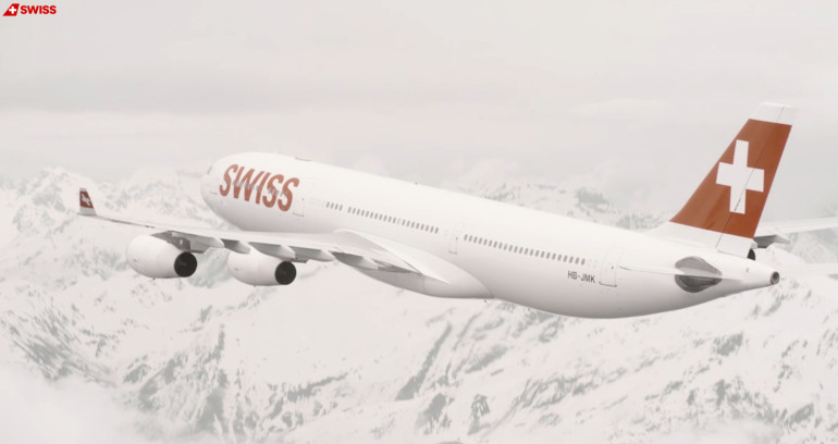 World Of Swiss - content campaign by Fly Swiss