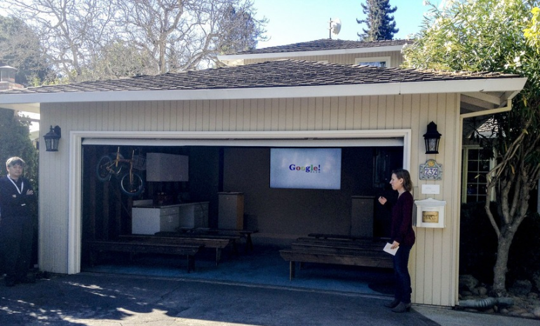 The Garage Where Google Was Born - Stanford