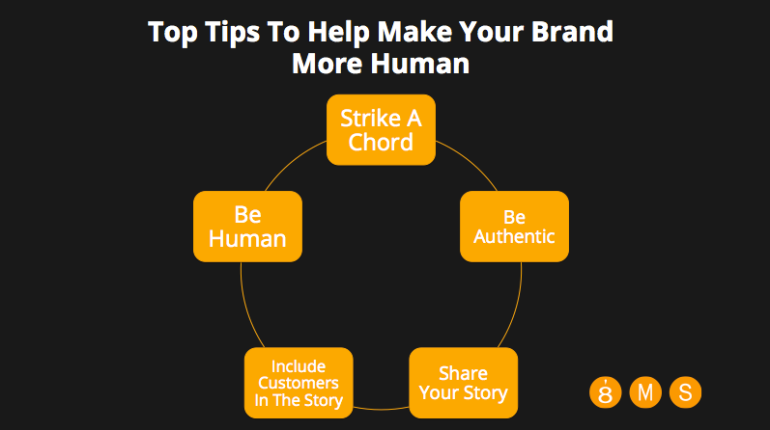 Top Tips To Help Make Your Brand More Human