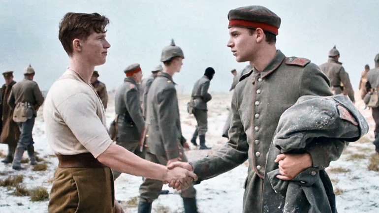 Sainsbury - Christmas Truce Advert 2014