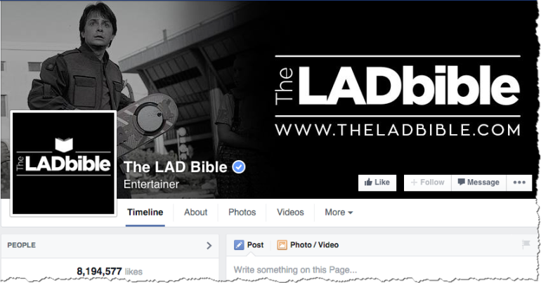 The LAD Bible - Facebook