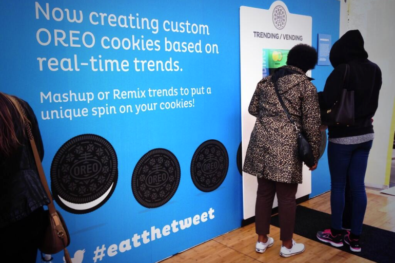 Oreo - SXSW Personalised Twitter Cookies