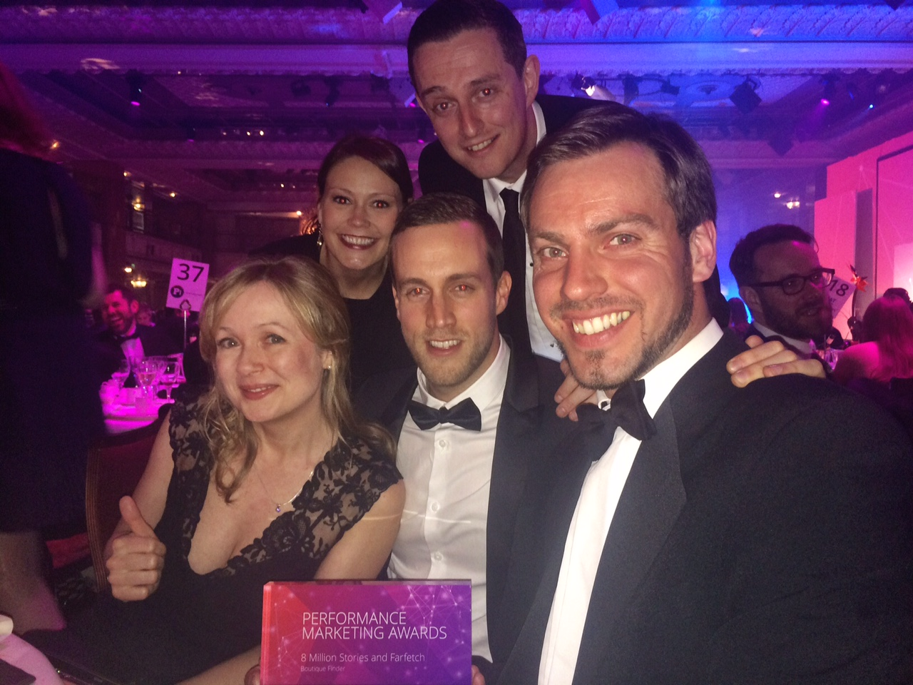 8MS At The Performance Marketing Awards 2015