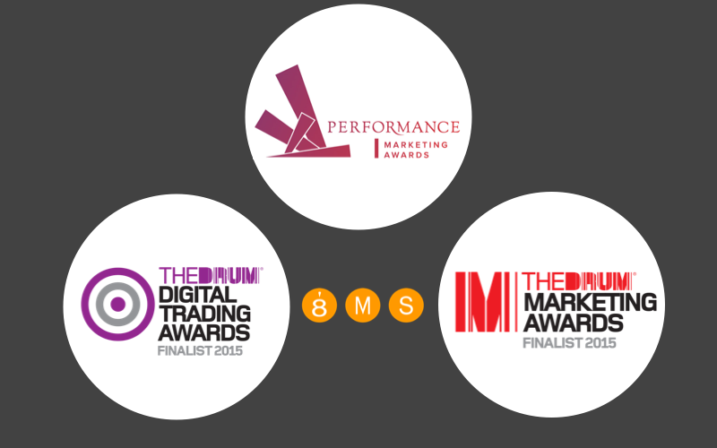 8MS Shortlisted For Three Digital Awards