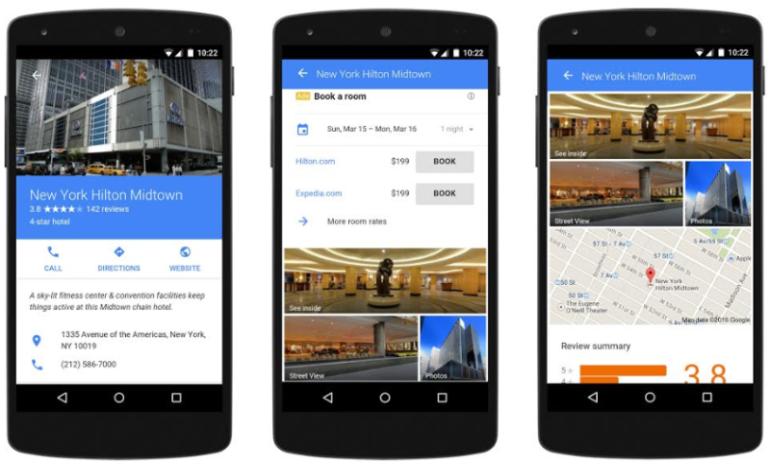 Google's enhanced hotel ads for mobile - Livestream 2015