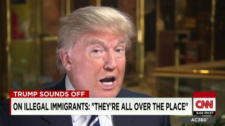 Donald Trump on immigration