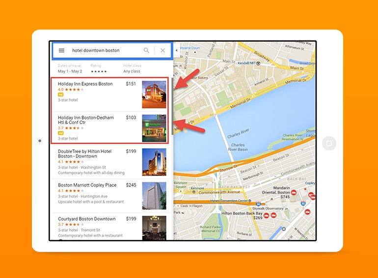 Google Maps ads are changing