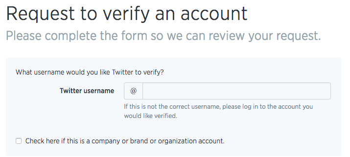 Twitter Verification Request - 8MS