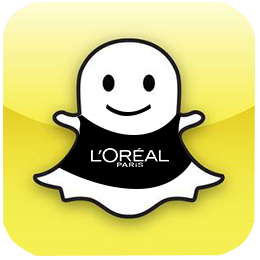 Snapchat Loreal Advertising