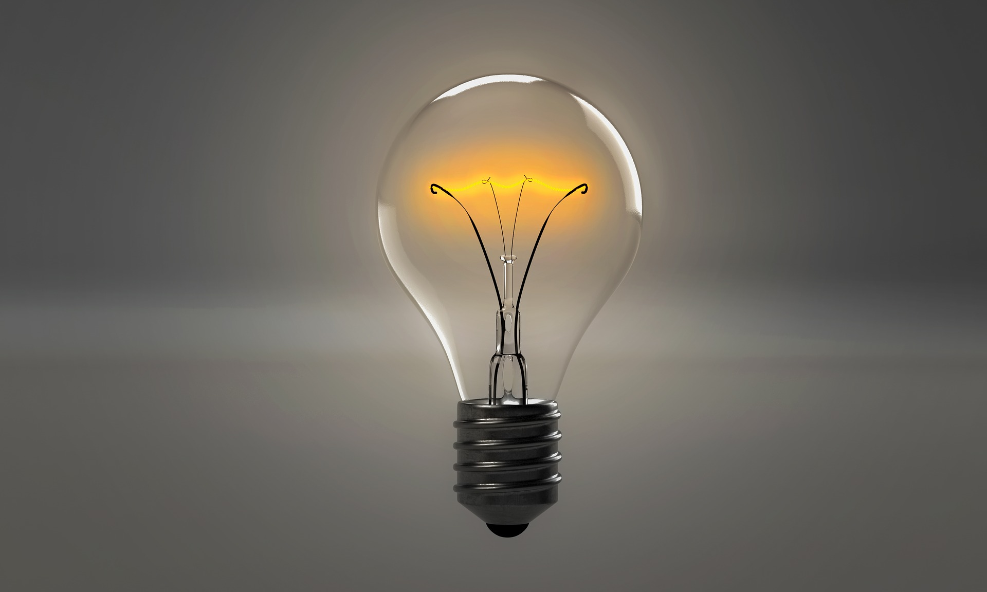 Content inspiration lightbulb