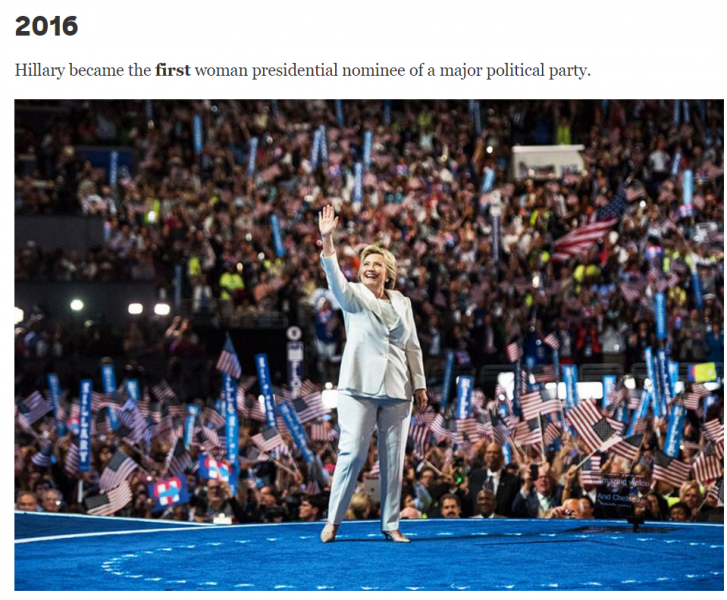Hillary Clinton Content Marketing