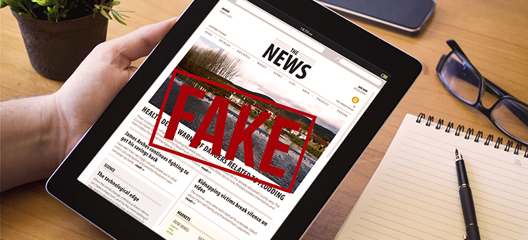 fake news header