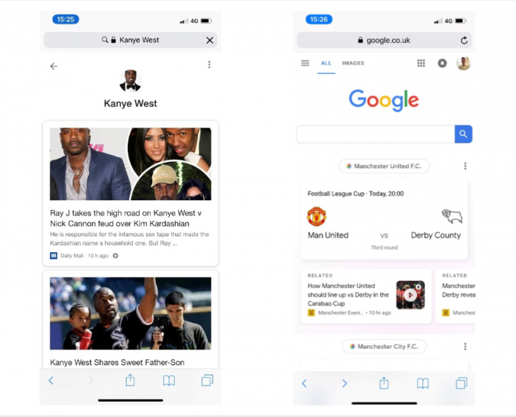 New Google Discover Feature on Mobile