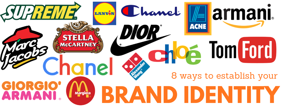 How to build your brand identity